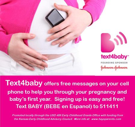 Text4Baby Small Flyer